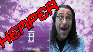 Silenced Hippie Hemper Subscription Box for Feburary by Sound Experiments