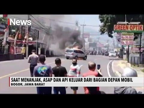 Tidak Kuat Menanjak, Mobil di Cisarua Bogor Terbakar - iNews Sore 26/08