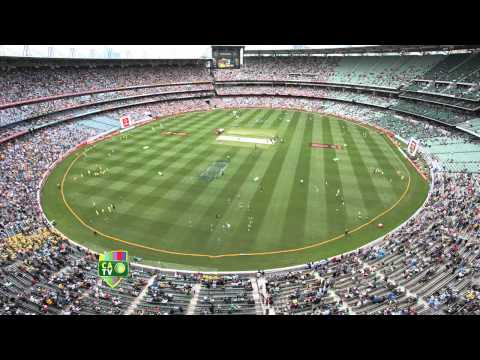 mcg - Ever wondered what view the birds get on Boxing Day at the MCG? CATV set up a camera in the roof above the Great Southern Stand to capture the action from 6a...