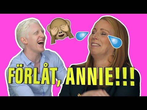 Den som skrattar förlorar #53 – med ANNIE LÖÖF
