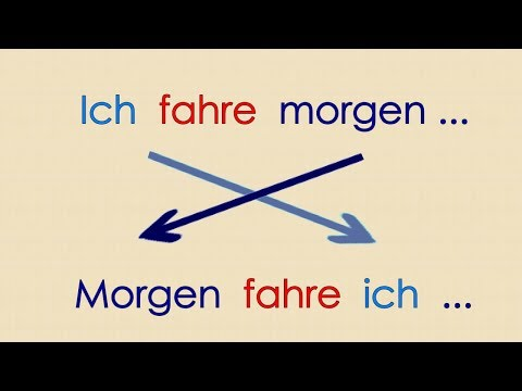 Deutsch lernen Grammatik 21: Satzbau (видео)