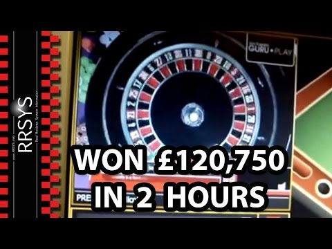 How I won £120,750 in 2 hours Biggest CASINO Roulette Win ▀▄▀ RRSYS