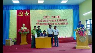 Phường Nam Khê: tổng kết công tác PCTT&TKCN, PCCR