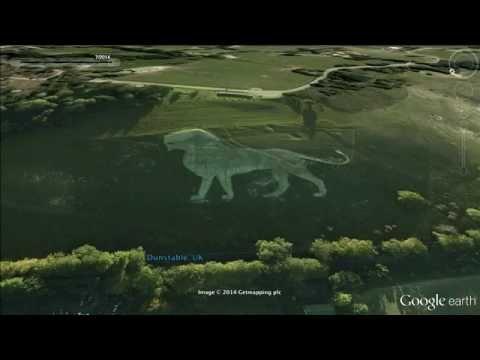 50 strange things on Google earth