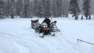 9. Ski doo Expedition SE 1200 Warn Winch