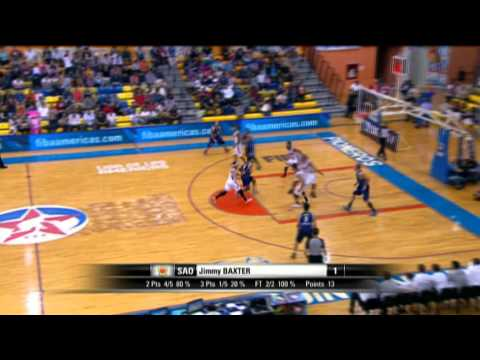 Pioneros (MEX) Vs. Sao Jose (BRA) - Game Highlight - Semifinal - 2015 Liga De Las Americas