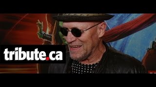 Michael Rooker talks to host Alexandra Heilbron on the red carpet in Toronto about reprising his role as Yondu in Guardians of the Galaxy Vol. 2. For more in...