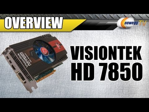 2GB - http://www.newegg.com | Video Card: http://bit.ly/Pu0EQt 14-129-266 Here's a Radeon HD 7850 2GB Video Card, made by Rosewill, Model: 900568. Check out the vi...