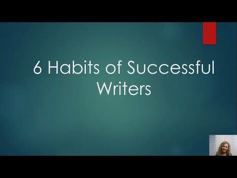 How To Be A Successful Writer
