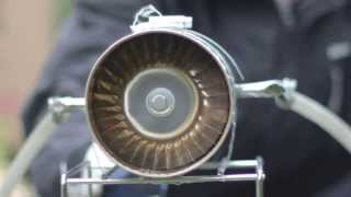 Homemade Axial Jet Engine (Tin Cans)