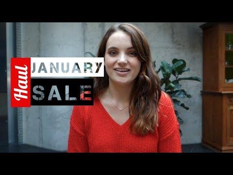January Sale Haul видео