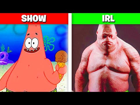 10 SpongeBob Characters Who EXIST IN REAL LIFE!