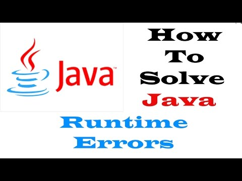 Java Runtime Environment Errors (Fix) For Any Program 100%