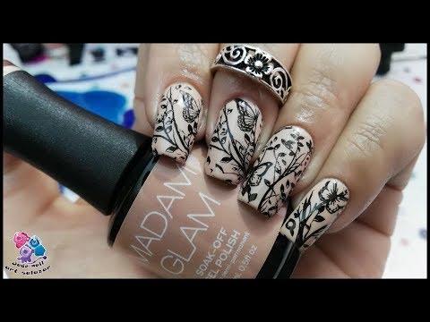 Diseños de uñas - DISEÑO DE UÑAS , nude y mariposas madamglam