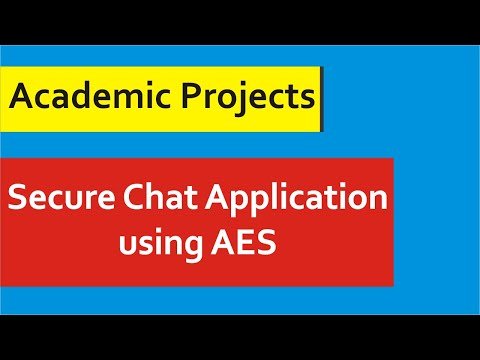 Java Project With Source Code - 2 Client Server Chatting System With AES Algorithm