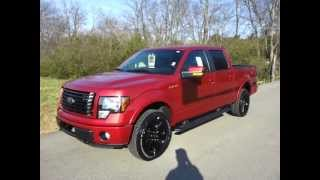 sold - 2012 FORD F-150 SUPERCREW FX4 4X4 RED CANDY ECOBOOST FX4 APPEARANCE PACKAGE CALL 888-653-8056