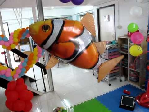 รูปปลา - ลูกโป่งรูปปลานีโม แหวกว่าย น่ารักมากมาย www.balloonie.com.