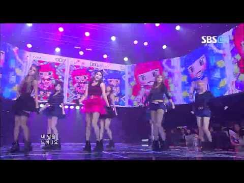 티아라 [Sexy Love] @SBS Inkigayo 인기가요 20120923 (видео)