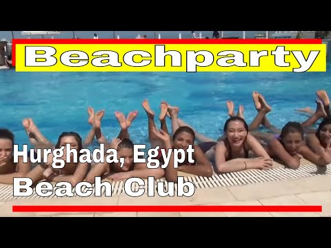Pool Party Egypt - بكيني في مارينا (видео)