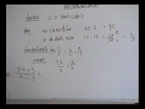 วีซีดีติวเข้มคณิตศาสตร์ ม.1 เทอม 2