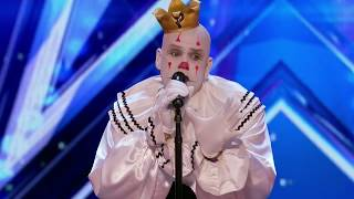 Puddles Pity Party Sad Clown Stuns Crowd with Sia's Chandelier - America's Got Talent 2017☞DISCLAIMER: I do not own this video, all rights belong to... Thank you for letting me upload your videos without blocking.