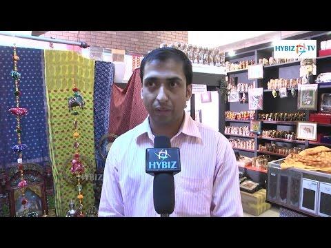 Suhail Alam Cottage Industries Assistant Manager - Exhibition Of Fine Cotton Sarees - Hybiz.tv