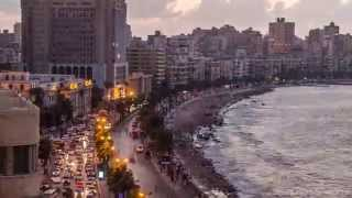 Alexandria Egypt  city images : A time lapse on Alexandria, Egypt