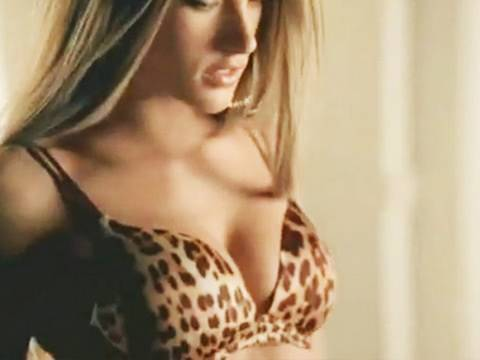 Victoria's Secret Tiger Bra Commercial