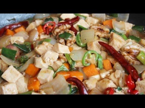 Chinese Korean Recipe: How to make Mapo Doufu – Mapa Tofu – 마파두부