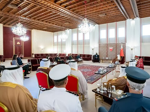 HRH the CP, Deputy Supreme Commander and PM receives the US Secretary of Defense