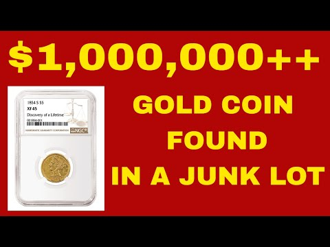 SUPER RARE GOLD COIN FOR AUCTION!  RARE COINS WORTH MILLIONS!