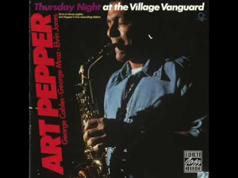 Art Pepper ‎– Saturday Night At The Village Vanguard