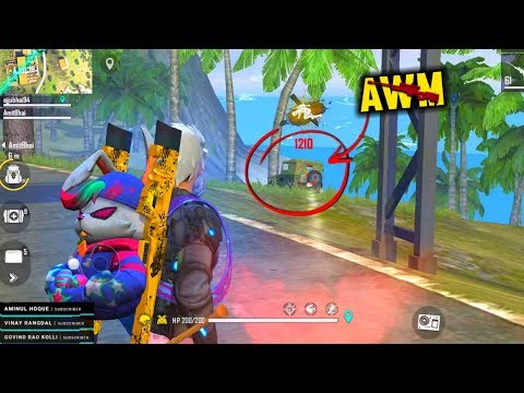 Unstoppable 2 AWM Best OverPower Ajjubhai Gameplay - Garena Free Fire