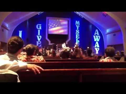 Amazing Grace - Joe Calvert @ moss bluff Pentecostals