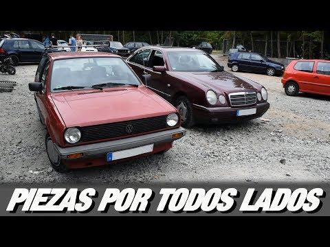 Visitando un pequeño DESGUACE ALEMÁN  y conociendo el VW Jetta MK2 Coupé de Soner -  RPMlog #95