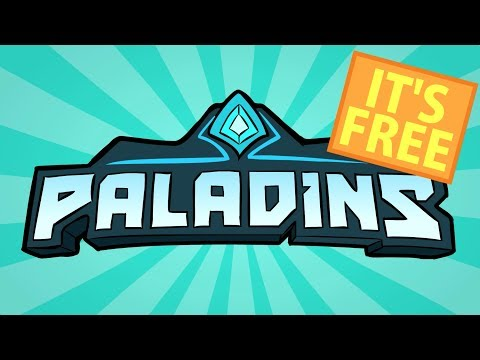 Paladins - Fight with Fantasy, Magic, and Guns! (видео)
