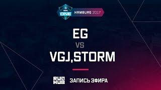 EG vs VGJ,Storm, ESL One Hamburg 2017, game 1 [Lex, 4ce]