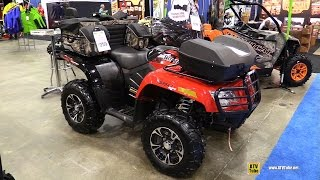 7. 2014 Arctic Cat 550 Limited Recreational ATV - Walkaround - 2015 Toronto ATV Show