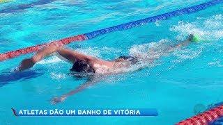 Atletas da natação paralímpica de Bauru conquistam de 16 medalhas em circuito nacional