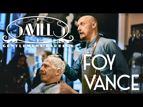 Foy Vance and Savills Barbers