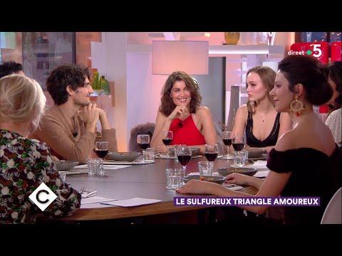 Au dîner avec Lily-Rose Depp, Laetitia Casta et Louis Garrel ! - C à Vous - 17/12/2018/