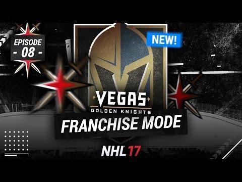 "NHL 17: VEGAS GOLDEN KNIGHTS FRANCHISE MODE - SEASON 8 ""BEST SEASON EVER!?"""