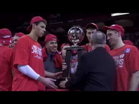 The Badgers are B1G Ten Champions