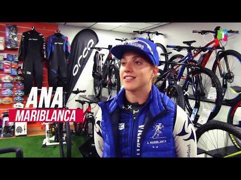 Ana Mariblanca, triatleta del Team Claveríapara la temporada 2018