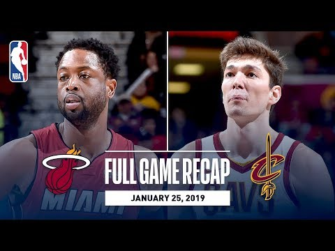 Video: Full Game Recap: Heat vs Cavaliers | Wade Makes His Final Visit To The Q