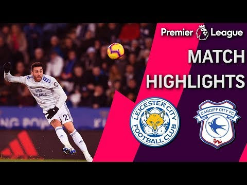 Video: Leicester City v. Cardiff City | PREMIER LEAGUE MATCH HIGHLIGHTS | 12/29/18 | NBC Sports