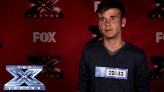 Yes, I Made It! Zakk Morgan - THE X FACTOR USA 2013