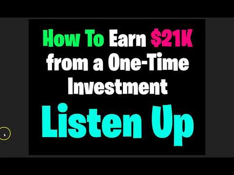 How to Earn $21K From Gifting $100 One Time