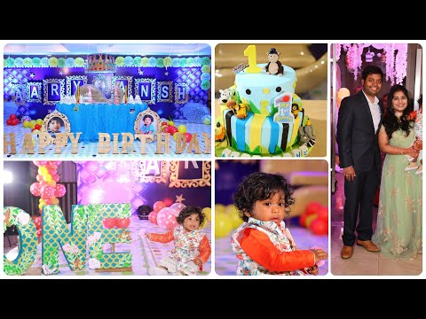 Indian baby boy first birthday celebrations | telugu baby boy first birthday trailer