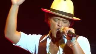 Bruno Mars - Natalie - live Sheffield 12 october 2013 - HD